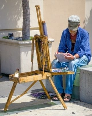 art gallery artist