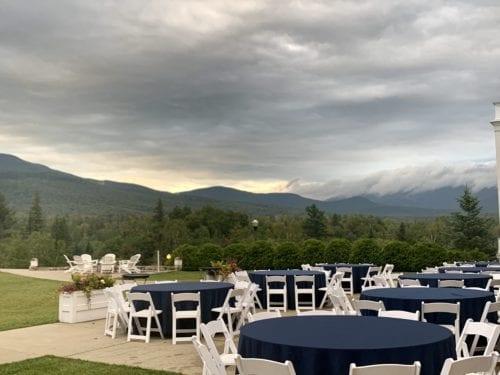Dinner on Mt. Washington