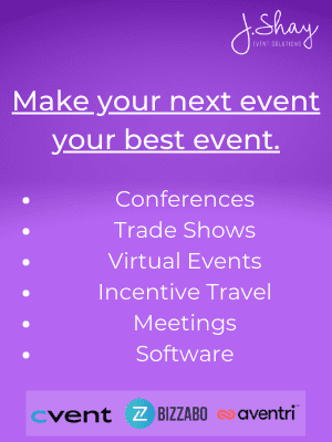 Make your next event your best event.