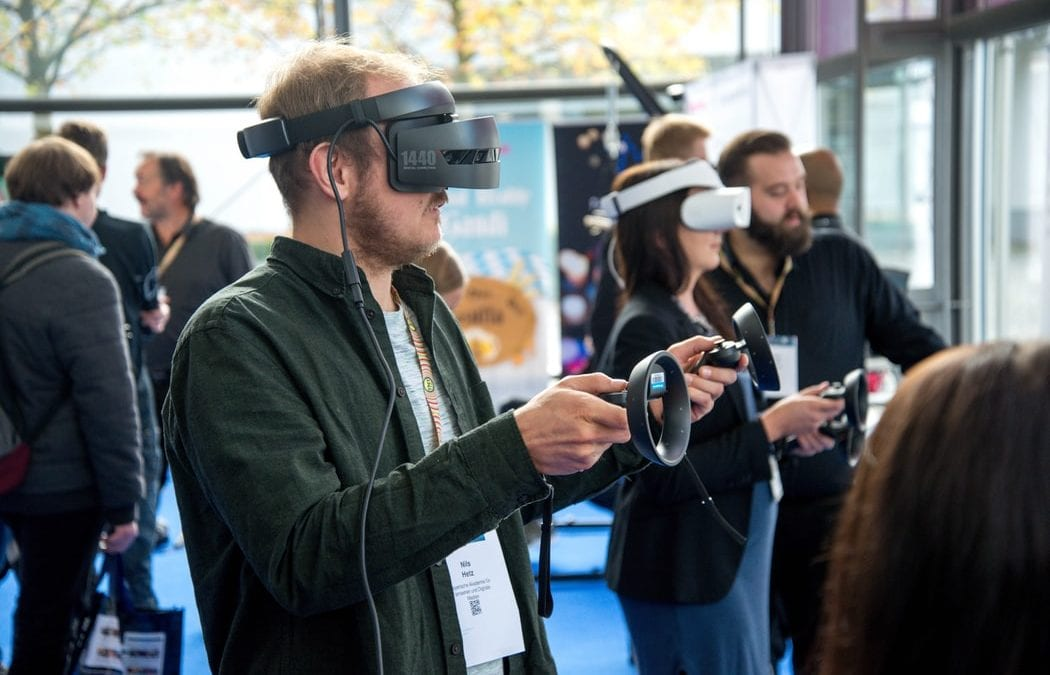 events with virtual reality